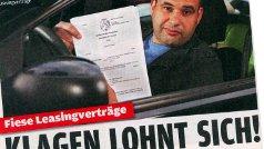 """AutoBild: """"Fiese Leasingverträge – Klagen lohnt sich!"""""""
